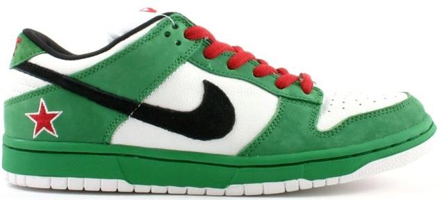 Nike Dunk SB Low Heineken