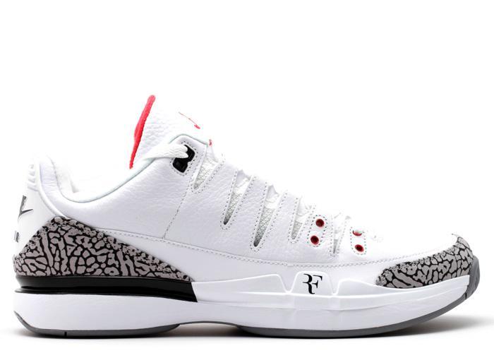 Nike Zoom Vapor AJ3 White Cement